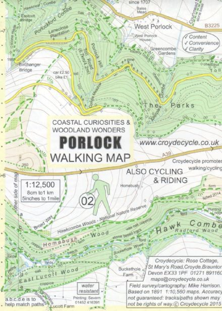 Porlock Map